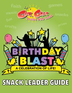 Everyone will love the delicious theme-based snacks in this Birthday Blast Catholic VBS! The leader guide is easy-to-use and filled with great ideas for each day. Check out a sample day on our website. Catholic Doctrine, Birthday Blast, Action Songs, Vacation Bible School, Bible Crafts, Pro Life, Best Vacations, Bible Verses, Faith
