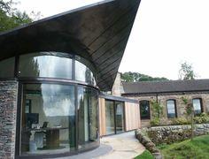 Sightline Glass Doors Gallery: large sliding; bi-folding; pivot; curved