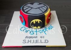 Agents of Shield Cake