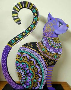 Dot Art Painting, Mandala Painting, Mini Paintings, Animal Paintings, Mosaic Animals, Arte Country, Mandala Art Lesson, Mandala Dots, Creative Workshop