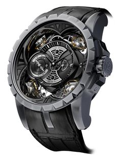Even though there is no gold or diamonds, the price of the new Excalibur Quatuor is $1.1 million. The case of these wathces is made of silicon, and took its creators 7 years of research. #luxury #watches