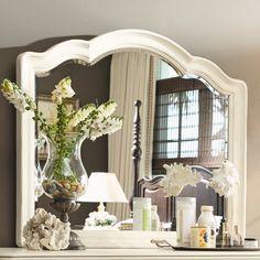 Steel Magnolia Decorative Landscape Mirror