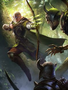 Prince of the Elves (Village lookout ruffing) by Jack Wang