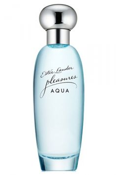 Pleasures Aqua Estée Lauder for women... limited edition... Pleasures Aqua by Estée Lauder is a Floral Aquatic fragrance for women. This is a new fragrance. Pleasures Aqua was launched in 2016. Top notes are honeysuckle, freesia, green leaves and watery notes; middle notes are jasmine, peony and lilac; base notes are musk, woodsy notes and ambroxan. The fragrance features lilac, jasmine and peony.