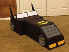 Batman box car made for preschool