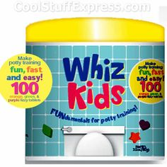 Whiz Kids Potty Training Tablets. Color change tablets! #ASD #autism #toastwcheese #pottytraining