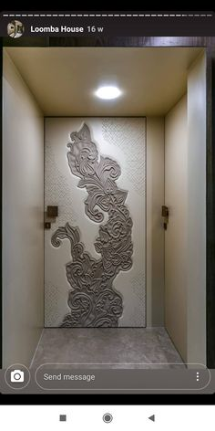Bedroom Door Design, Door Design Interior, Interior Work, Modern Entrance Door, Modern Door, Entry Doors, Flush Door Design, Door Gate Design, Wall Cladding Interior