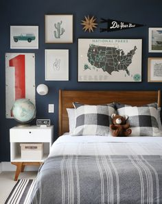 Tween Boy Bedroom Makeover Ideas: the Before & Plans Kids Bedroom, Bedroom Decor, Bedroom Ideas, Big Boy Bedrooms, Bedroom Designs, Kids Room Design, Cool Rooms, New Room, Studio