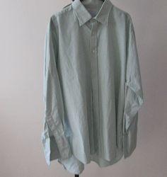 Vintage/Retro Quality Men's Shirt. Pure Cotton Green