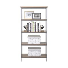 Homestar 4-shelf Bookcase   Overstock.com Shopping - The Best Deals on Book Racks