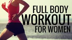 Full Body Workout for Women - Get a free new workout or weight loss training every Thursday. Subscribe now!