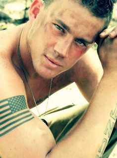 Channing Tatum not his real tattoos but still.. *bites knuckles.. hot!