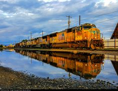 RailPictures.Net Photo: 3862 Union Pacific EMD SD70M at Spokane, Washington by Kaput Gerat Lupinum