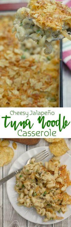 Chrissy Teigen's Cheesy Jalapeño Tuna Noodle Casserole