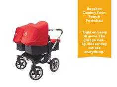 Double buggies recommended by mums - BabyCentre Blog