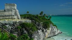 Tulum ruins. go early. bring sunscreen. rent a bike to get there if possible.