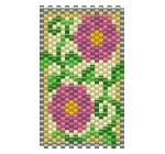 ThreadABead Mini Flower Panel