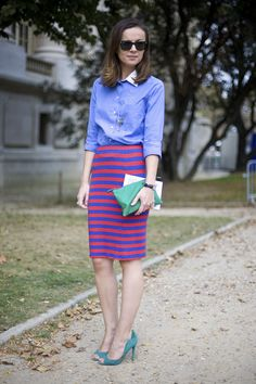Almost bough this skirt last year. Now I'm lusting over the shoes.