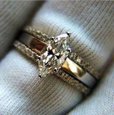 burnish set diamond band women - Google Search