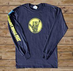 2011 Hangout Fest Long-Sleeve Shirt - Navy Blue - $20.00