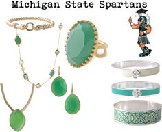 """""""Michigan State Spartans"""" by robin-willis on Polyvore"""