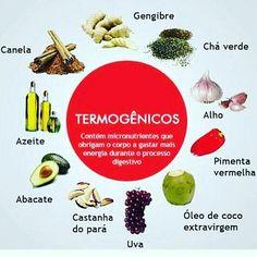 Os termogênicos são famosos aceleradores de metabolismo.Existem termogênicos naturais(obtidos de alimentos) aumentando a resistência e a queima de gordura. 💪🏻🍎 Tenha hábitos saudáveis.
