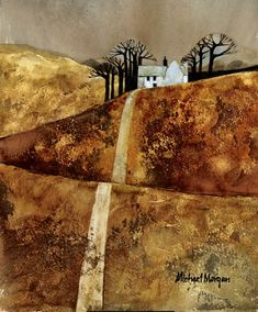 Limited edition prints from West Country artist Michael Morgan. Widest online selection of mounted prints by watercolour artist Michael Morgan. Contemporary Landscape, Abstract Landscape, Landscape Paintings, Abstract Art, Landscape Design, Landscapes, Watercolor Artists, Watercolor Paintings, Watercolours