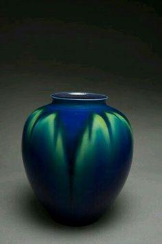 Tokuda Yasokichi III, Vase, Porcelain With Kutani Glaze, 1990