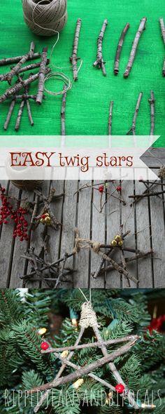 Christmas DIY|Easy DIY|DIY ideas|nature crafts|Christmas ornaments|Christmas crafts|crafts for kids|Craft tips for Christmas|