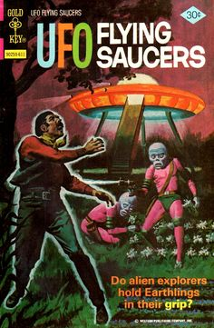 UFO Flying Saucers #12 (Gold Key, 1976)