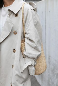 Trench and bag