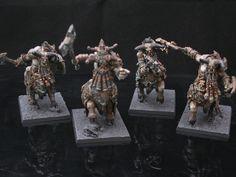 Chaos Dwarf Bull Centaur Taur'ruk and Bull Centaur