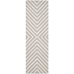 Safavieh Cambridge Silver/Ivory 2 ft. 6 in. x 12 ft. Runner-CAM129D-212 - The Home Depot