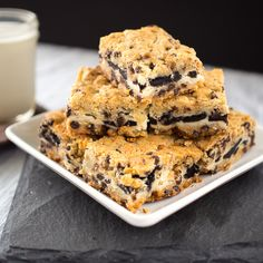Cookies and cream cheesecake cookie bars are the perfect go-to desserts!