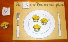 If You Give a Moose a Muffin - Preschool/Kindergarten Learning Fun