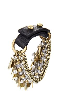 I need to add this edgy cuff bracelet to my wardrobe!