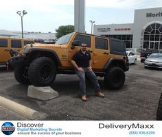 My name is John Kirk and I work at Moritz Chrysler Dodge Jeep Ram. I have worked at Moritz for over a year however I have been using delivery longer than that with another dealership. I enjoy how easy it is to use and how I can use it with my Facebook page. It is a professional for me to reach out to new customers and their friends. In addition I have noticed that my GM and owner also look at the reviews comment on my great customer satisfaction.  John Kirk