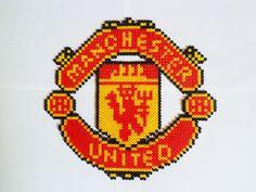 Manchester United Wall or Shelf Decoration by gensgemsshop on Etsy