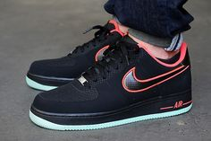 NIKE AIR FORCE 1 LOW (LASER CRIMSON/ARCTIC GREEN) | Sneaker Freaker