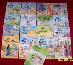 Lot 17 Alice in Bibleland Vintage Christian Childrens Hardcover Books Homeschool #Grolier