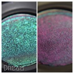 Dream - Pressed Eye Shadow (Notoriously Morbid) Holographic Eyeshadow, Green To Blue, Calcium Carbonate, My Makeup Collection, Makeup For Green Eyes, Iron Oxide, Facial Care, Hair And Nails