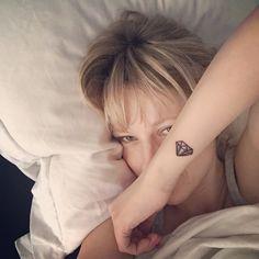 Diamond tattoo, small tattoo