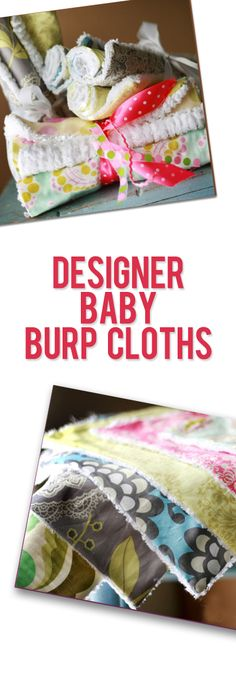 Diy Baby Clothes Patterns Burp Rags Super Ideas Diy Baby Clothes Patterns Burp Rags S Quilt Baby, Baby Clothes Patterns, Baby Patterns, Quilting Patterns, Clothing Patterns, Baby Design, Baby Gifts To Make, Diy Gifts, Scrappy Quilts