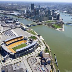 Heinz Field for a Steelers game in the fall. :)