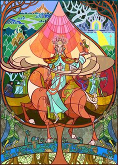 art JIAN GUO for book Tolkien John Ronald Reuel