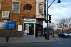 corner with street Mckinley Park, Community Picture, Chicago Neighborhoods, Bud Light, Back In Time, The Neighbourhood, Nostalgia, Street, Corner