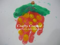 Great blog - lots of great handprint and footprint art projects!