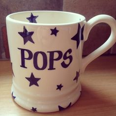 personalised mug pops #emmabridgewater