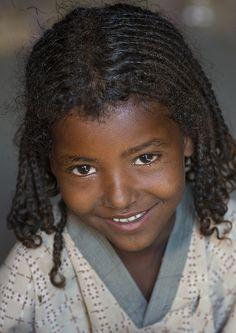 Afar Tribe Girl, Ethiopia
