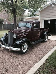 Chevrolet Standard 1936 Chevy Pick Up- original - Autos und Motorräder Old Pickup Trucks, Gm Trucks, Cool Trucks, Lifted Trucks, Jeep Pickup, Antique Trucks, Vintage Trucks, Antique Cars, Vintage Sport